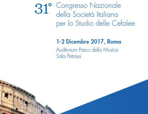 31° Congresso Nazionale SISC (Società Italiana per lo studio delle cefalee)