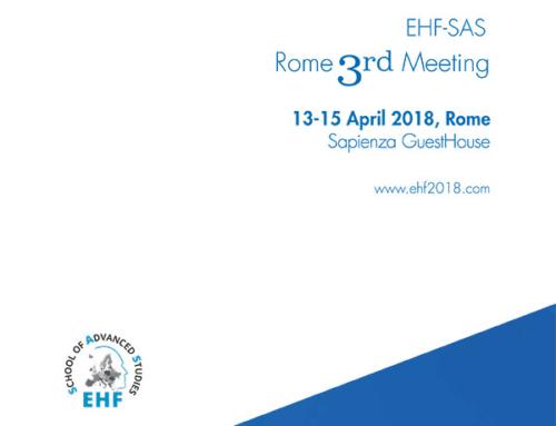 3rd EHF – SAS Meeting