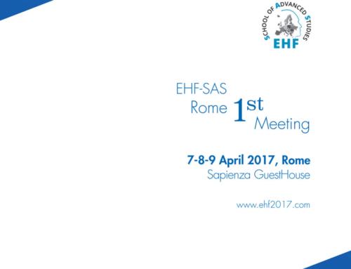 EHF-SAS 1st Meeting