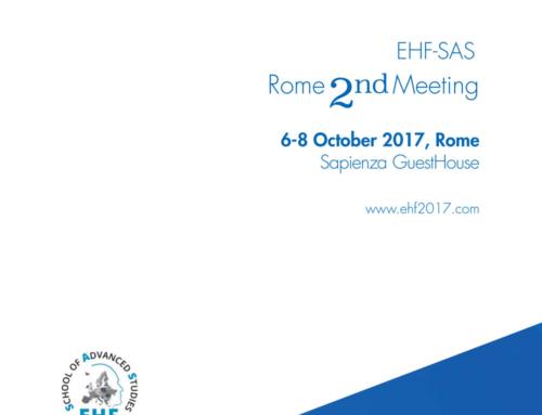 EHF-SAS 2nd Meeting